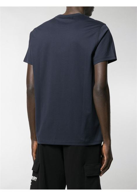 Navy blue TB embroidered Monogram motif T-shirt  BURBERRY |  | 8014022-PARKERA1222