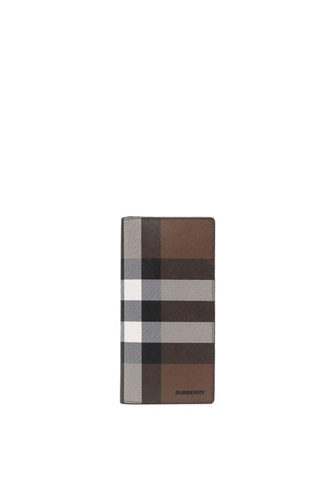 Brown leather Vintage Check continental wallet  BURBERRY |  | 8036670-MS CAVENDISHA8900
