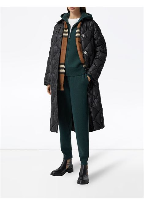 Birch brown and multicolour cashmere Classic-check fringed scarf   BURBERRY |  | 8037147-MU GIANT CHKA8773