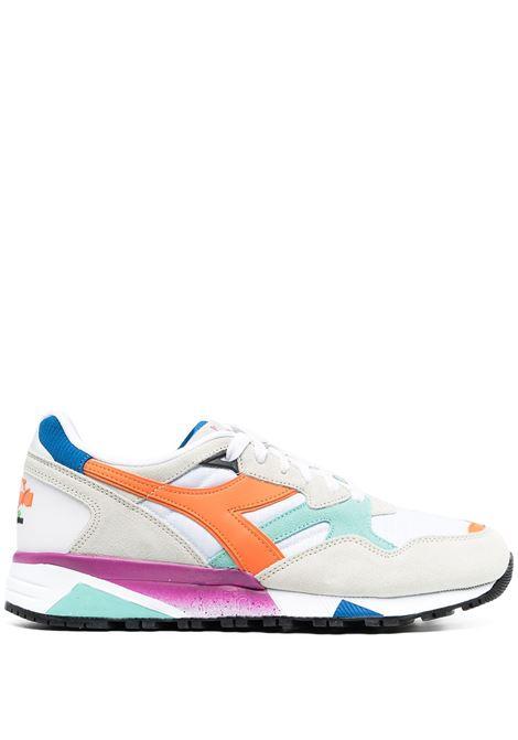 Sneaker N9002 in pelle e camoscio multicolor DIADORA | Sneakers | 173073-N9002C9208