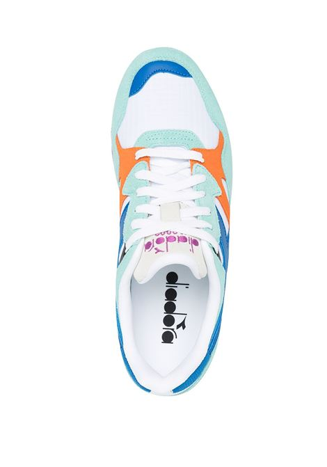 Sneaker N9002 in pelle e camoscio multicolor DIADORA | Sneakers | 173073-N9002C9209