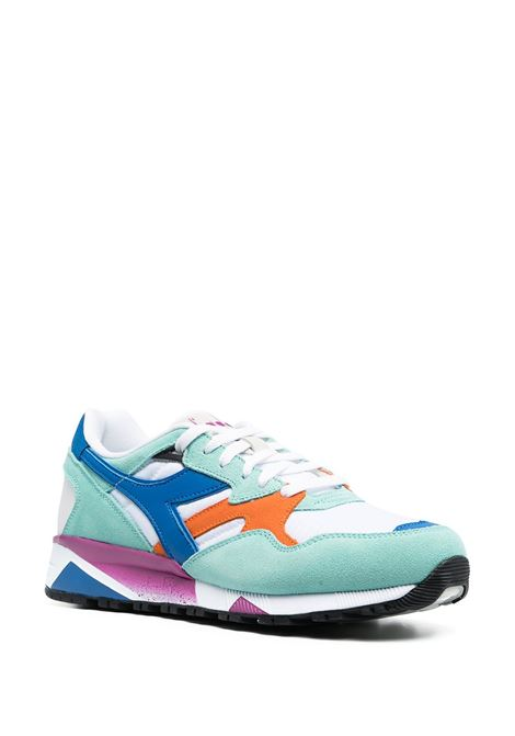 Multicolour leather and suede N9002 sneakers featuring colour-block panelled design DIADORA |  | 173073-N9002C9209