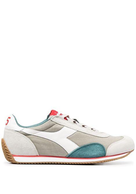 Sneakers Equipe in camoscio e pelle beige e bianco DIADORA | Sneakers | 174735-EQUIPE H CANVAS SW75023
