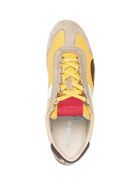 Yellow suede and leather Equipe Italia sneakers  DIADORA |  | 176046-EQUIPE ITALIA35025