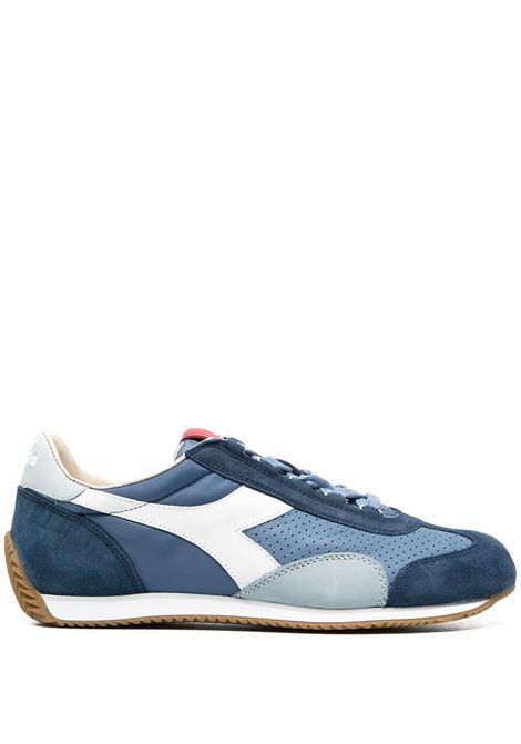 Blue leather Equipe Italia sneakers featuring colour-block panelled design DIADORA |  | 176046-EQUIPE ITALIA60023