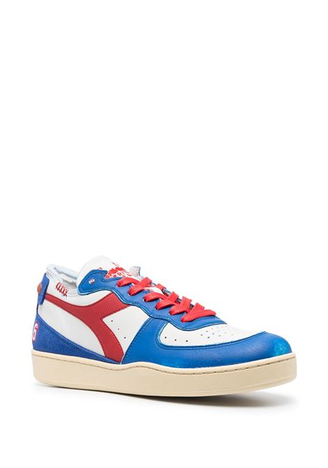 Blue,white and red leather and suede Mi Basket Row Cut sneakers  DIADORA |  | 177152-MI BASKET ROW CUT PHILLY 6C0897