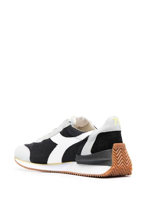 Black, grey and white leather Equipe colour block panelled sneakers  DIADORA |  | 177158-EQUIPE MAD ITALIAC1041