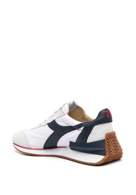 Sneakers Heritage in pelle bianca e tessuto blu navy DIADORA | Sneakers | 177158-EQUIPE MAD ITALIAC4656