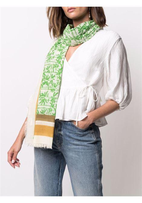 Sciarpa Fonzo in cotone multicolore 90x115 con stampa astratta DIEGA | Sciarpe e foulards | FONZO-67714
