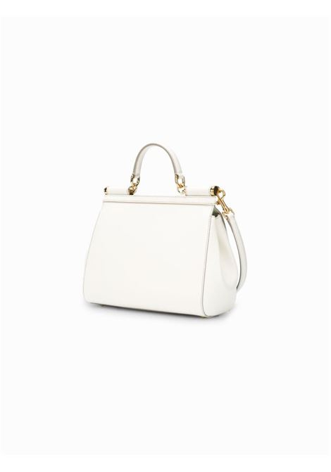 white leather Medium Miss Sicily shoulder bag  DOLCE & GABBANA |  | BB6002-A100180001