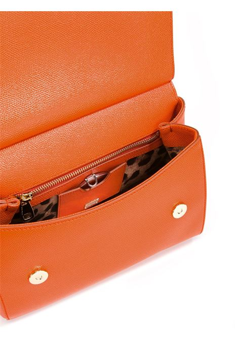 Orange calf leather medium Miss Sicily bag DOLCE & GABBANA |  | BB6002-A100180244