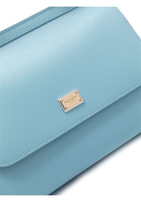 sky blue calf leather medium Miss Sicily bag DOLCE & GABBANA |  | BB6002-A10018H682