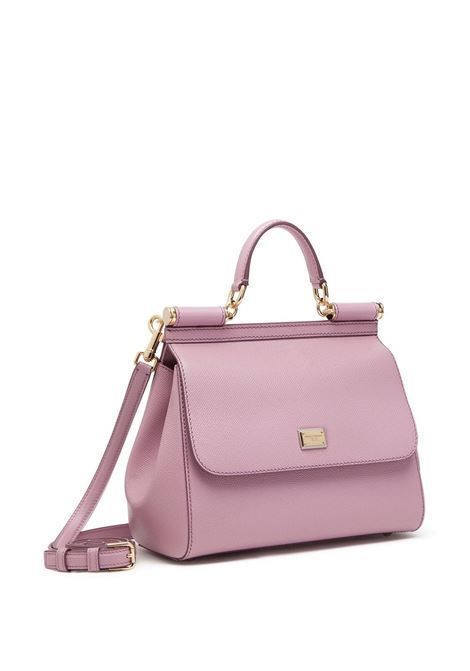 Pink calf leather medium Miss Sicily bag DOLCE & GABBANA |  | BB6002-A10018L418