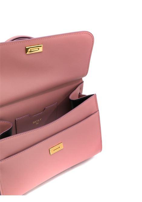Borsa tote Sicily 58 in pelle di vitello rosa DOLCE & GABBANA | Borse a mano | BB6622-AV38580472