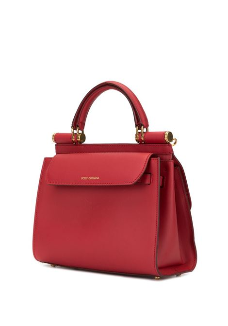 calf red leather small Sicily tote  DOLCE & GABBANA |  | BB6622-AV38587124