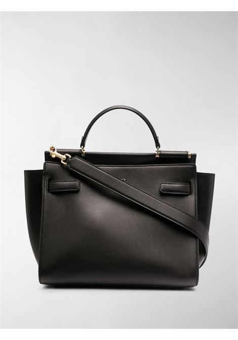 black leather Sicily tote bag featuring adjustable detachable shoulder strap DOLCE & GABBANA |  | BB6891-AO0418S479