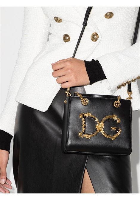 Black calf leather small DG Girls tote  DOLCE & GABBANA |  | BB6906-AW57680999