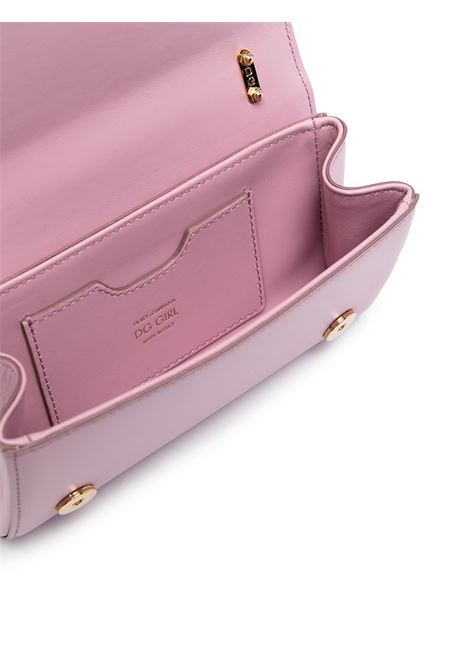 Pink leather DG Girls phone bag featuring gold-tone hardware DOLCE & GABBANA |  | BI1416-AW0708L418