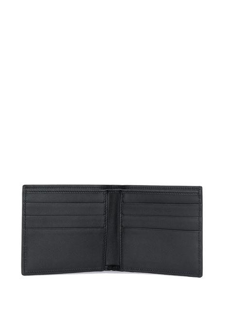 portafogli pelle quadrato scritta dolce & gabbana contrasto DOLCE & GABBANA | Portafogli | BP1321-AA062HNI43