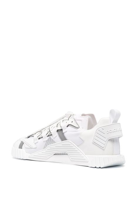 White leather Ns1sneakers featuring all-over Dolce & Gabbana logo print DOLCE & GABBANA |  | CS1770-AJ9698B930