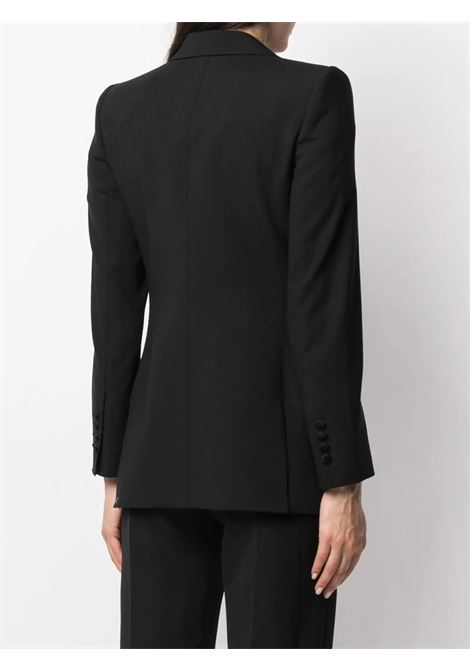 Black virgin wool tailored blazer featuring internal leopard print lining DOLCE & GABBANA |  | F29DOT-FUBAJN0000