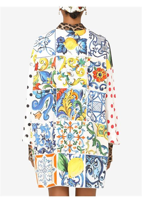 Multicolour cotton mix-print shirt  DOLCE & GABBANA |  | F5O37T-GDZ05S9000