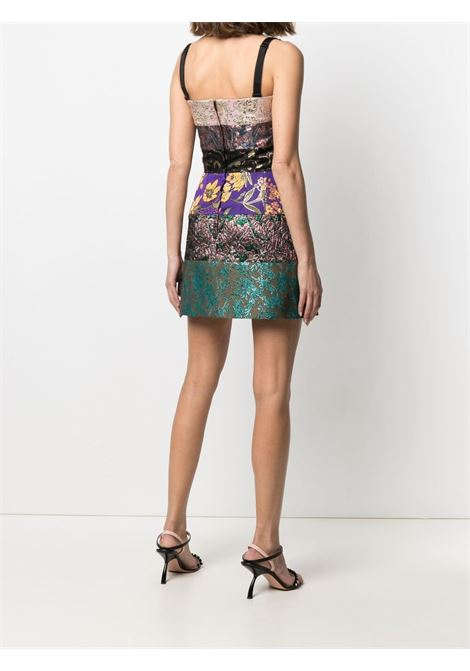 Multicolour floral mini dress featuring square neck DOLCE & GABBANA |  | F6O0VT-GDX65S9000