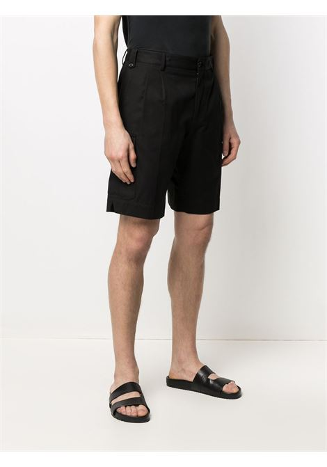 Black stretch cotton high-rise cargo shorts   DOLCE & GABBANA |  | GW3JAT-FUFJUN0000