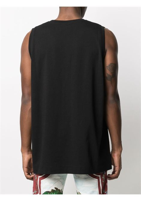 Black cotton Haneta sleeveless top  DRIES VAN NOTEN |  | HANAT-2603-11123900