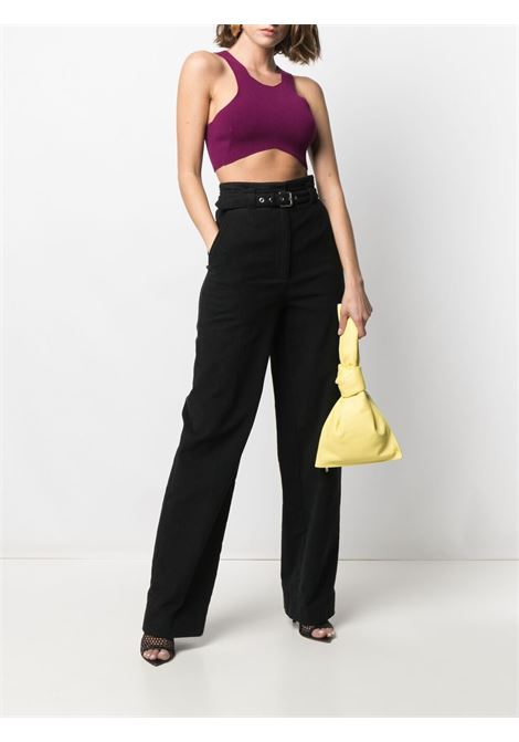 Violet Nana cropped top  DRIES VAN NOTEN |  | NANA-2700-11213304