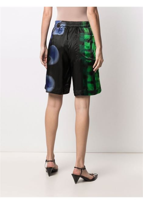 multicoloured cotton Pomar mixed-print shorts  DRIES VAN NOTEN |  | POMAR LONG-10954-2068604