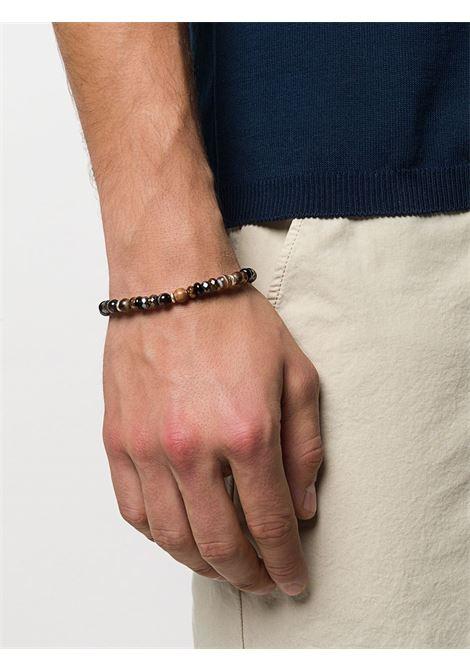 Bracciale con perline marroni multicolore ELEVENTY | Bracciale | 979BR0084-BRA2700205