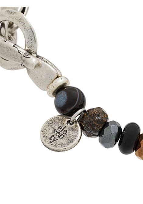 Multicoloured brown bead bracelet  ELEVENTY |  | 979BR0084-BRA2700205
