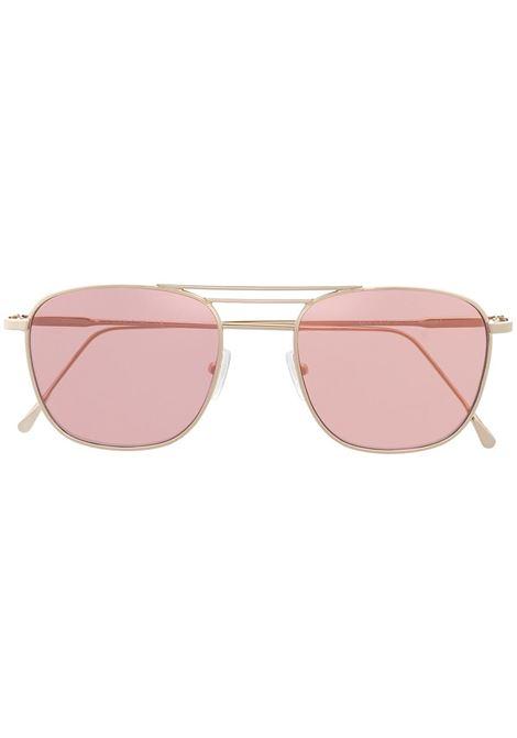 Occhiali da sole squadrati color oro con lenti rosa ELEVENTY | Occhiali | B72OCCB02-OCC0B00226