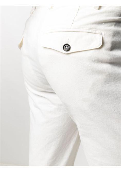 Abito bianco doppiopetto in cotone elasticizzato ELEVENTY | Abiti | C70ABUB01-TET0C03100