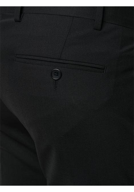 Abito monopetto in lana stretch nera ELEVENTY | Abiti | C70ABUC01-TES0A05322