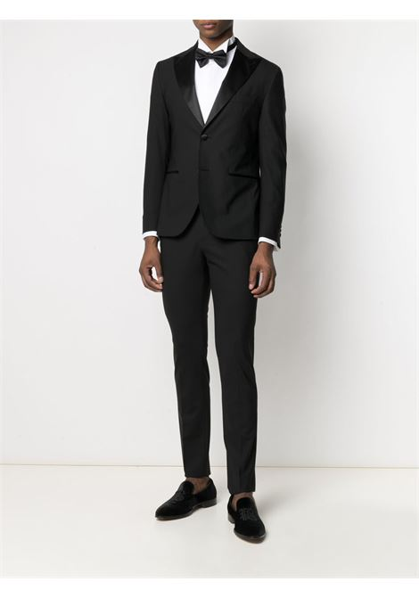 Black stretch-wool single-breasted suit  ELEVENTY |  | C70ABUC01-TES0A05322