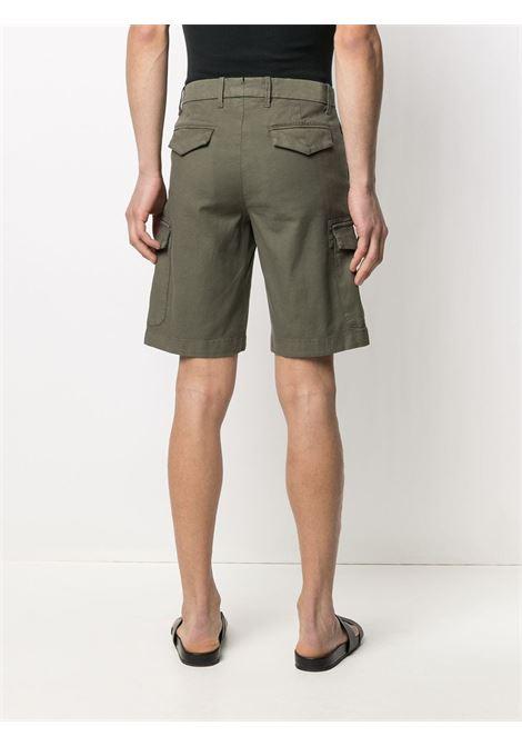 pantaloncini cargo in cotone verde ELEVENTY | Bermuda | C70BERC02-TET0C02807