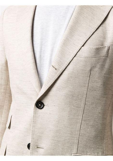 Blazer in cotone ecrù con rever classico ELEVENTY | Giacche | C70GIAB04-TES0C11702