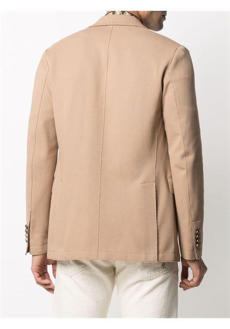 Blazer in cotone cammello ELEVENTY | Giacche | C70GIAB08-JAC2500104