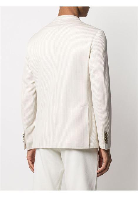 White and beige cotton striped blazer  ELEVENTY |  | C70GIAC01-TES0C11602