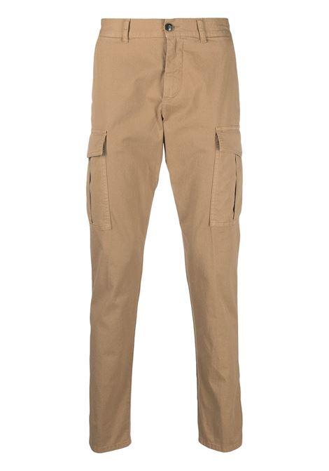 Pantaloni chino slim fit in cotone elasticizzato beige ELEVENTY | Pantaloni | C70PANB05-TET0C00804