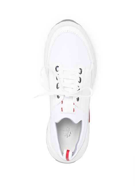 White leather lace-up low-top sneakers  ELEVENTY |  | C72SCNC07-SCA0C02001