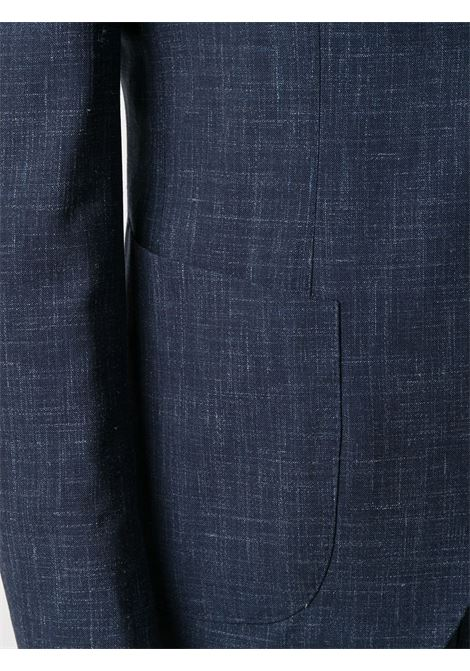 Navy blue wool-blend single-breasted tailored suit ELEVENTY |  | C75ABUC10-TES0A03511N