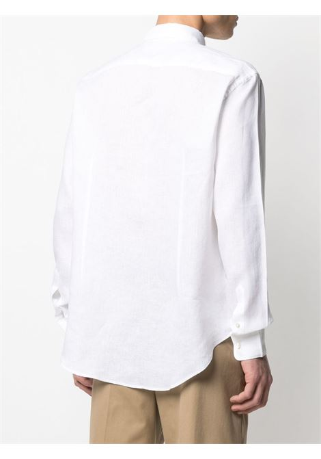 White linen long-sleeve shirt featuring classic collar ELEVENTY |  | C75CAMA05-TES0A00101