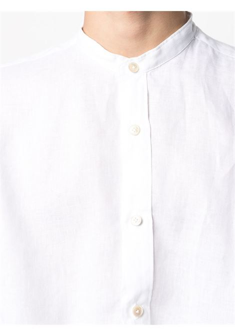 White linen shirt featuring band collar ELEVENTY |  | C75CAMA10-TES0A00101
