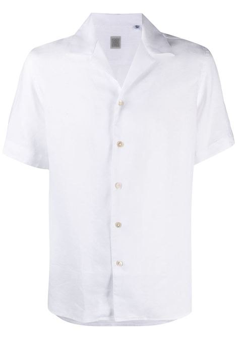 White linen short-sleeved shirt  ELEVENTY |  | C75CAMC07-TES0A00101
