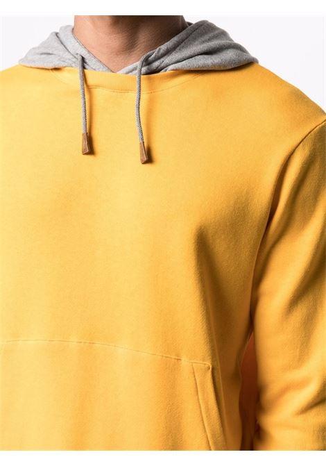 Felpa con cappuccio in cotone giallo ELEVENTY | Felpe | C75FELC01-TES0C17128