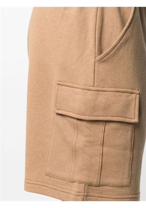 Camel brown cotton drawstring cargo shorts  ELEVENTY |  | C75FELC05-TES0C17104