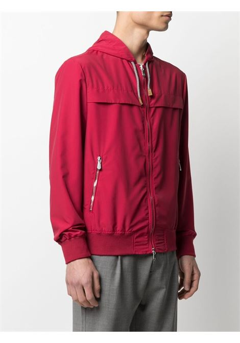 Red zip-up hooded jacket  ELEVENTY |  | C75GBTC01-GBT270075000